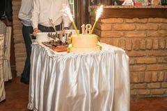 Вечеринка по случаю дня рождения 18 Стоковые Фото
