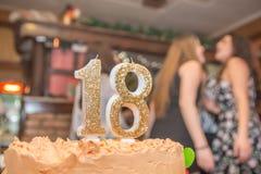 Вечеринка по случаю дня рождения 18 Стоковое Фото