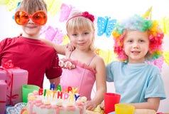вечеринка по случаю дня рождения Стоковое Изображение RF