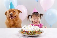 вечеринка по случаю дня рождения стоковая фотография