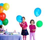 вечеринка по случаю дня рождения Стоковые Изображения