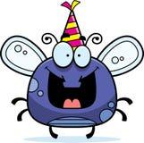 Вечеринка по случаю дня рождения мухы шаржа бесплатная иллюстрация