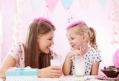 Вечеринка по случаю дня рождения дома Стоковое Изображение