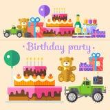 Вечеринка по случаю дня рождения праздника Стоковые Изображения
