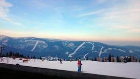 Вечеры зимы Стоковая Фотография RF