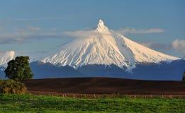 Вечер вулкана Стоковое Изображение RF