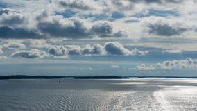Вечер в архипелаге Стоковое Изображение RF