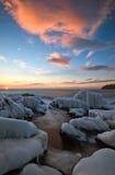 Вечер в заливе Востока Восточное море Стоковые Фото