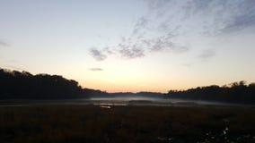 Вечер в ноябре Стоковая Фотография RF