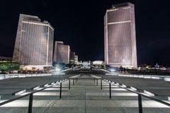 Вечер вдоль площади Имперского штата Стоковая Фотография