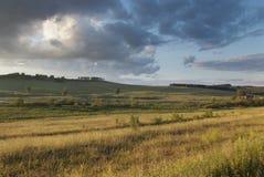 Вечер в предгорьях Урала стоковое изображение rf