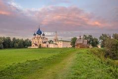 Вечер в Suzdal Стоковое фото RF