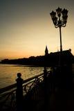 вечер города Стоковые Изображения RF