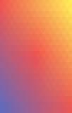 Вечер лета градиента вектора треугольника предпосылки Стоковые Изображения RF