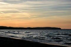 вечер залива Стоковые Изображения