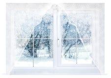 Вечер зимы Стоковые Изображения RF