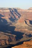 вечер каньона грандиозный стоковое фото