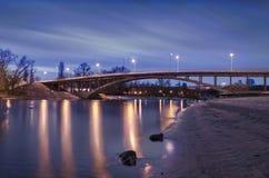Вечер Киев Украина Стоковая Фотография RF