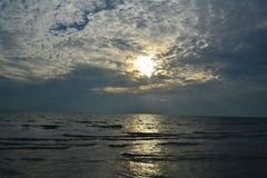 Вечер морем Стоковая Фотография