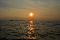 Вечер моря Стоковые Фотографии RF