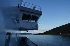 Вечер моря Norvegian Стоковые Изображения RF