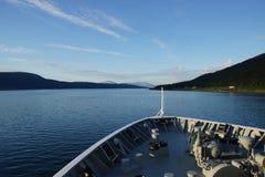 Вечер моря Norvegian Стоковые Фотографии RF