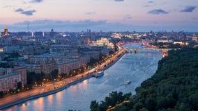 Вечер Москвы Стоковая Фотография