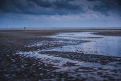 Вечер на Teluk Sisek Стоковые Изображения RF