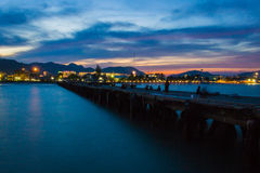 вечер неба Стоковая Фотография