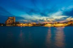 вечер неба Стоковые Изображения RF