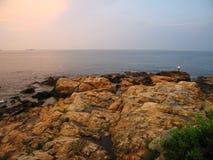 Вечер океана Стоковое фото RF