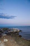 вечер пляжа Стоковое Изображение