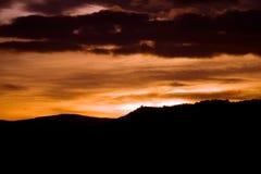 вечер предпосылки темный Стоковые Изображения RF
