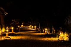Вечер светов стоковые изображения