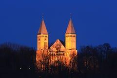 вечер церков Стоковое Изображение RF