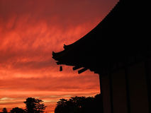 вечер япония Стоковая Фотография