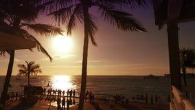 Вечер Key West сток-видео