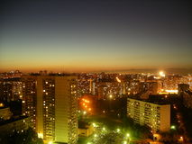 вечер moscow Стоковое Фото