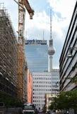 Вечная строительная площадка Берлин Стоковое фото RF