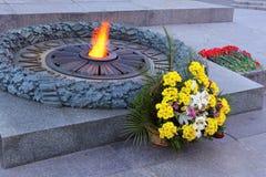 Вечное пламя Стоковое Фото