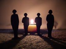 вечное пламя Стоковая Фотография RF