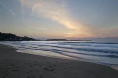 Вечность на болгарском песочном береге стоковая фотография