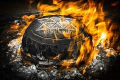 Мемориальный пожар на холме парламента Оттавы Стоковое Изображение