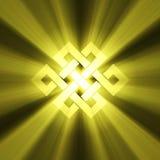 вечный знак света узла пирофакела Стоковые Изображения RF