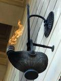 вечный огонь Стоковое Изображение
