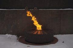 вечный огонь Стоковые Изображения