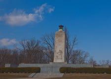 Вечный памятник света мира, Gettysburg, Пенсильвания Стоковая Фотография RF