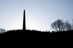 вечный памятник славы Стоковое Изображение RF