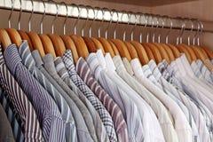 вешалка одежд Стоковые Фото