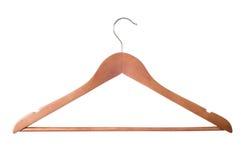 вешалка пальто деревянная Стоковое Изображение RF